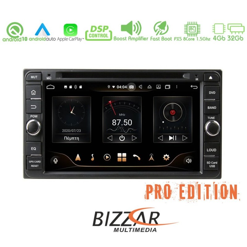 Bizzar Pro Edition Toyota Hilux Android 10 8core Navigation Multimedia
